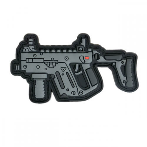 KRISS GUN RIFLE AIRSOFT cal 45 PVC Patch 3D