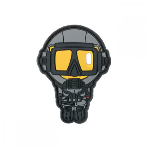 UDT NAVY SEAL TAUCHER DIVER PVC Patch 3D