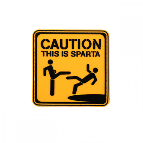 THIS IS SPARTA PVC MORAL PATCH 1