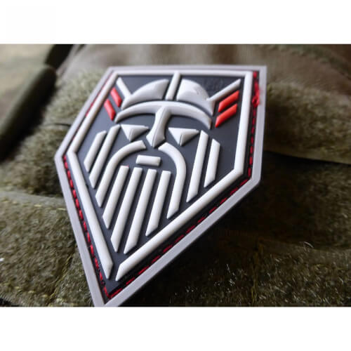 JTG ODIN GOD OF VIKINGS, fullcolor / 3D Rubber Patch