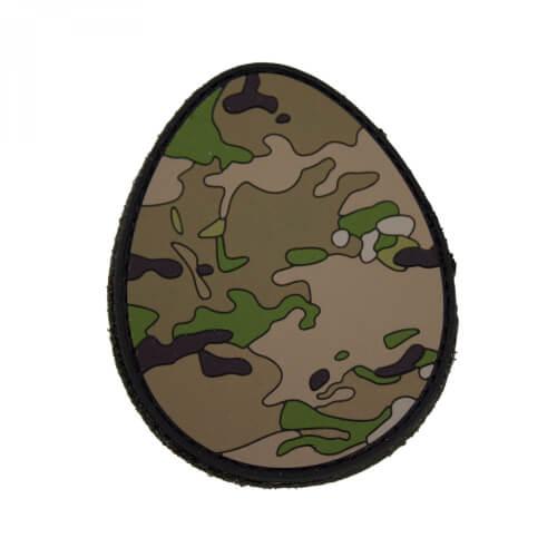 EASTEREGG - 3D PVC Rubber Patch Camoflage