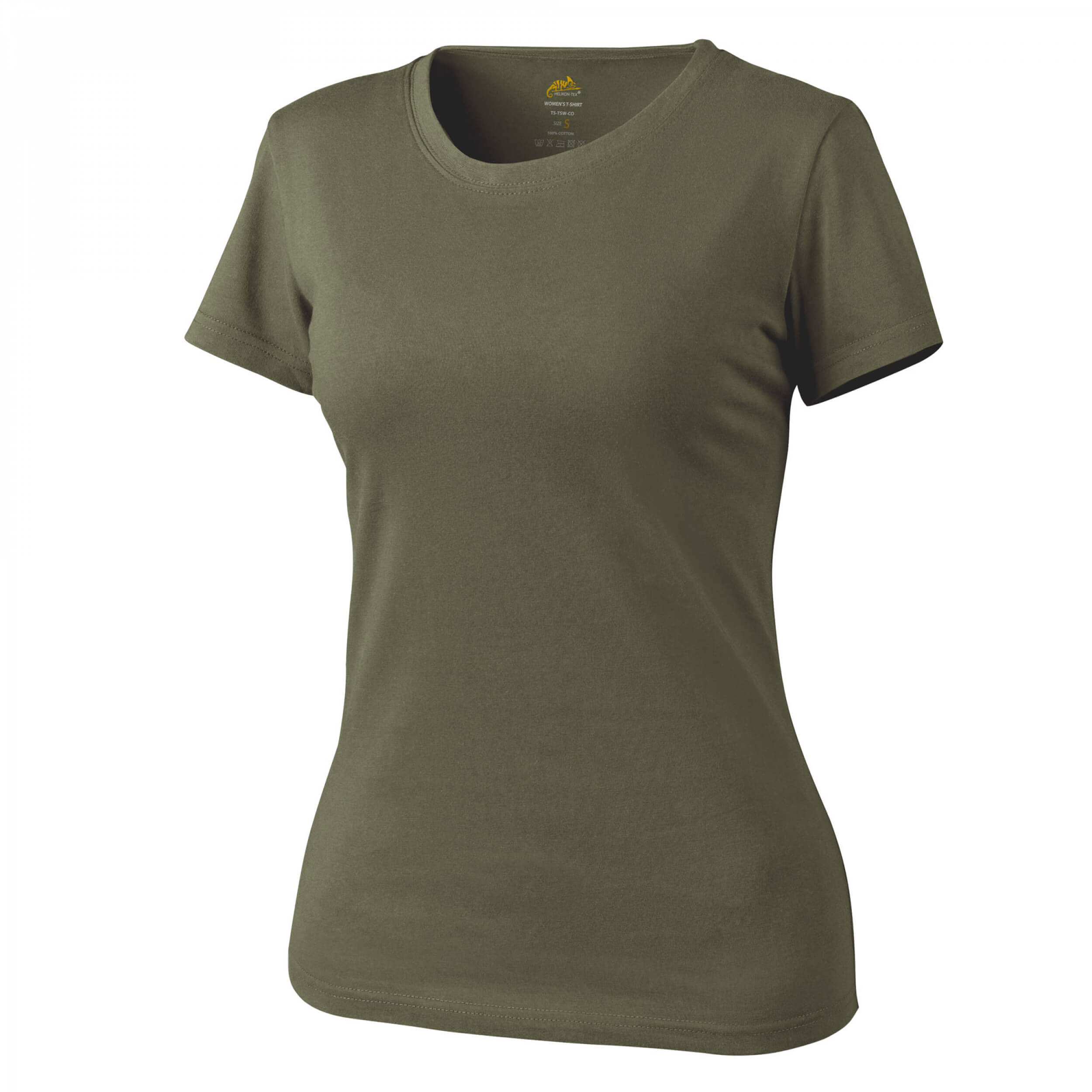 Helikon-Tex Womens T-Shirt Cotton - Olive Green