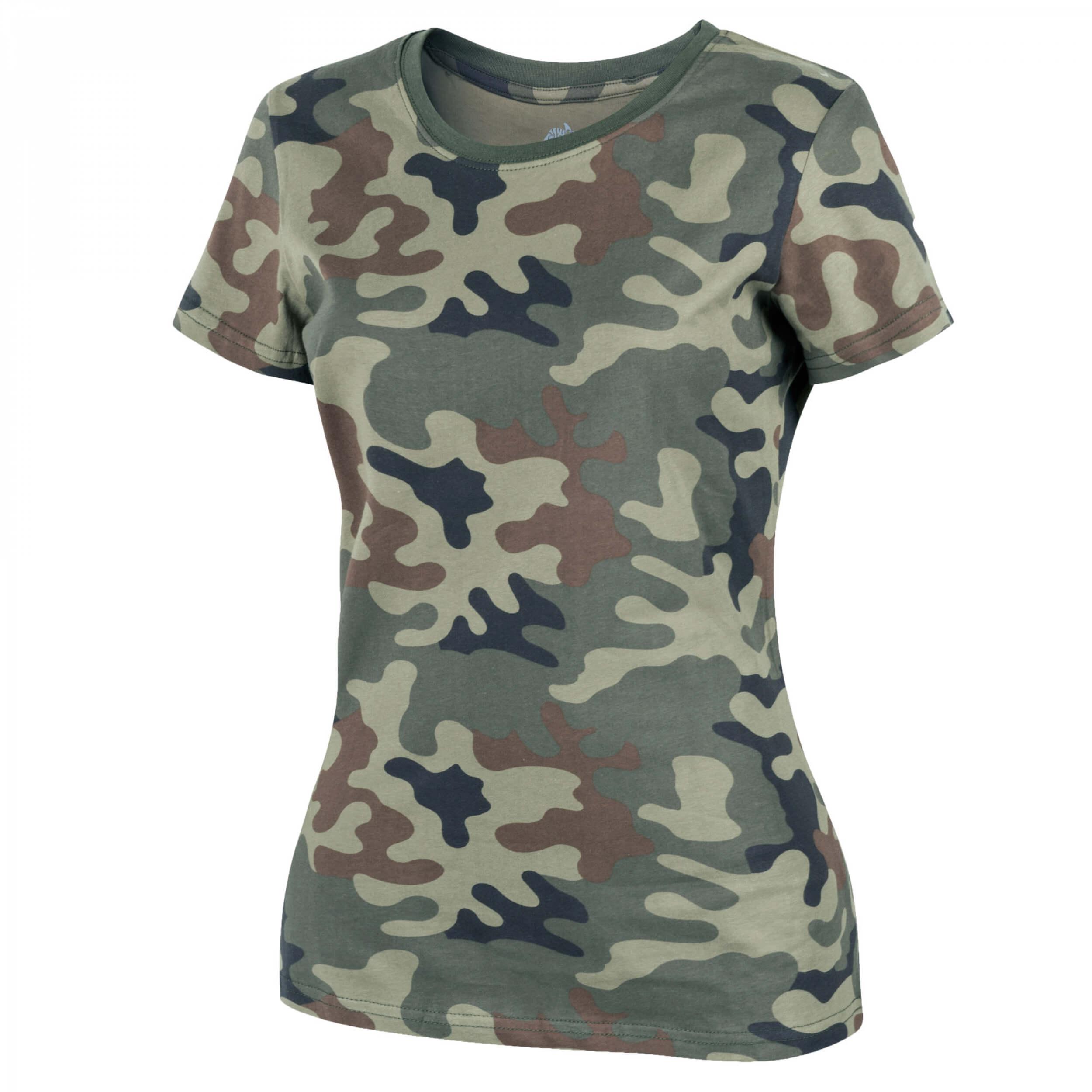 Helikon-Tex Womens T-Shirt Cotton - PL Woodland
