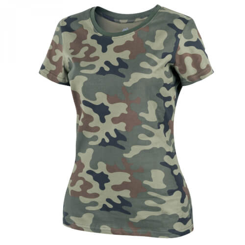 Helikon-Tex Womens T-Shirt Cotton - PL Woodland