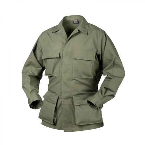 Helikon-Tex BDU Shirt - PolyCotton Ripstop - Olive Green