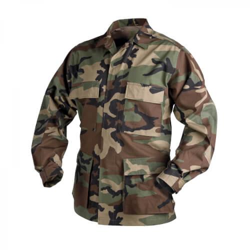 Helikon-Tex BDU Shirt - PolyCotton Ripstop - US Woodland