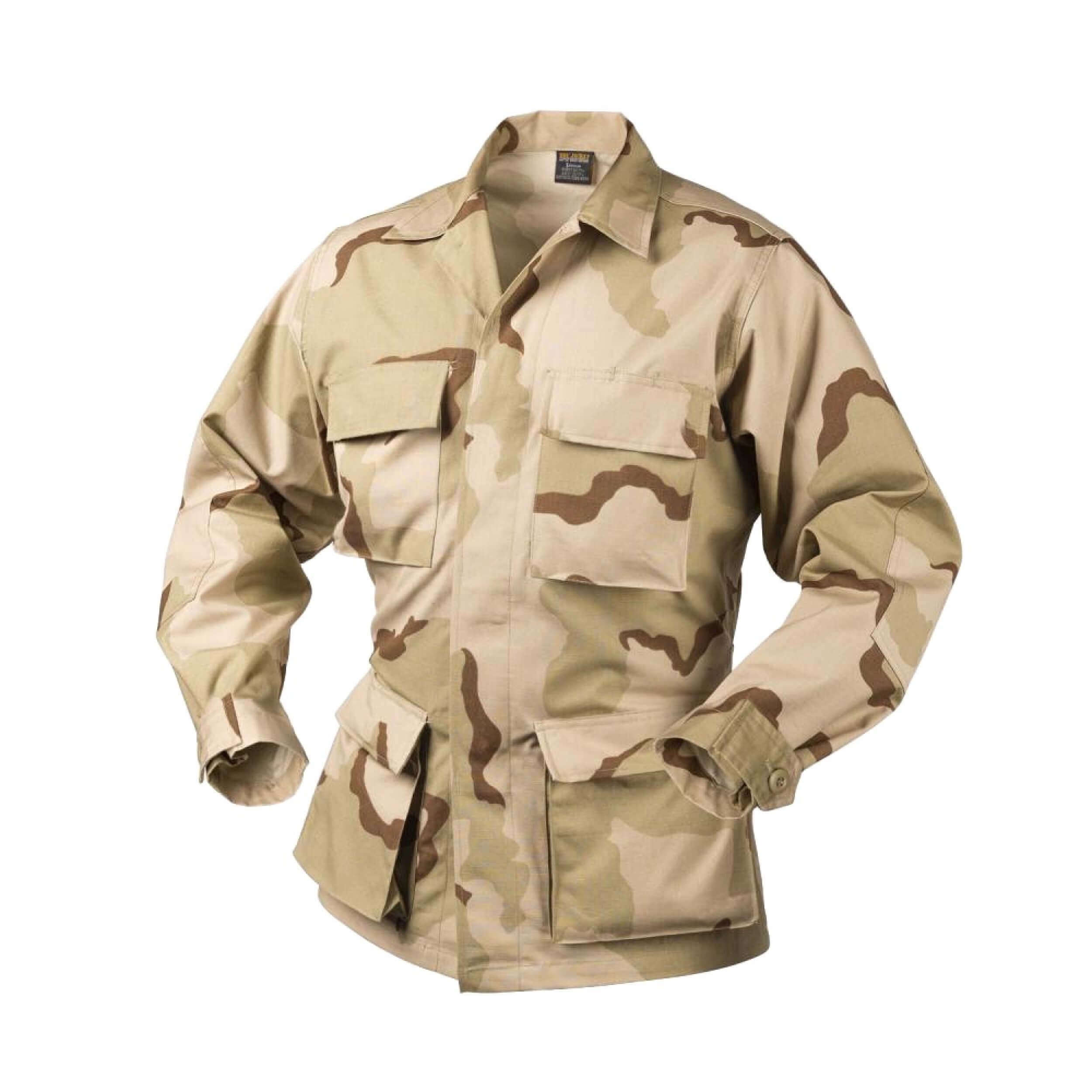 Helikon-Tex BDU Shirt - Cotton Ripstop - US Desert