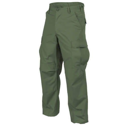 Helikon-Tex BDU Trousers - Cotton Ripstop - Olive Green