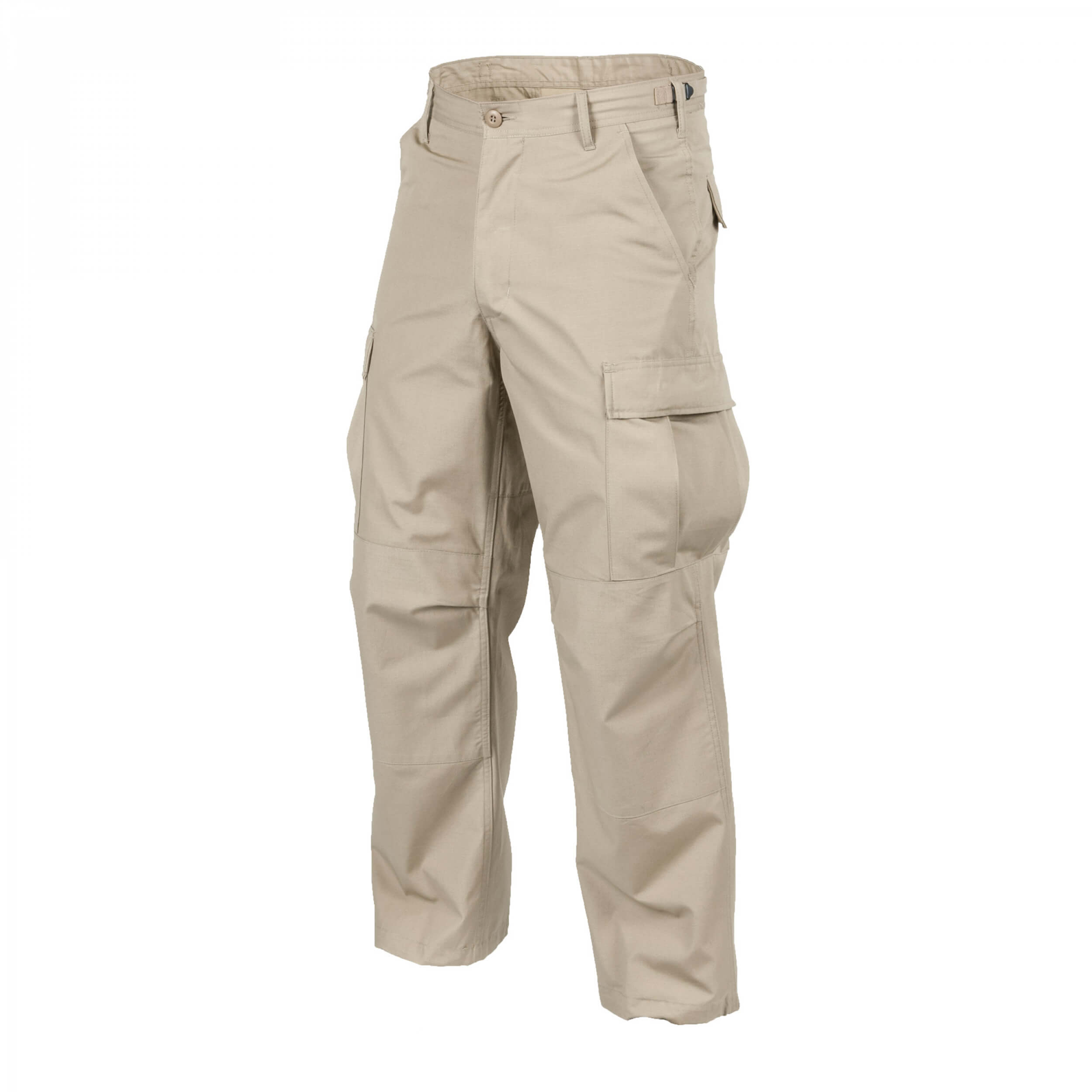 Helikon-Tex BDU Trousers - Cotton Ripstop - Khaki
