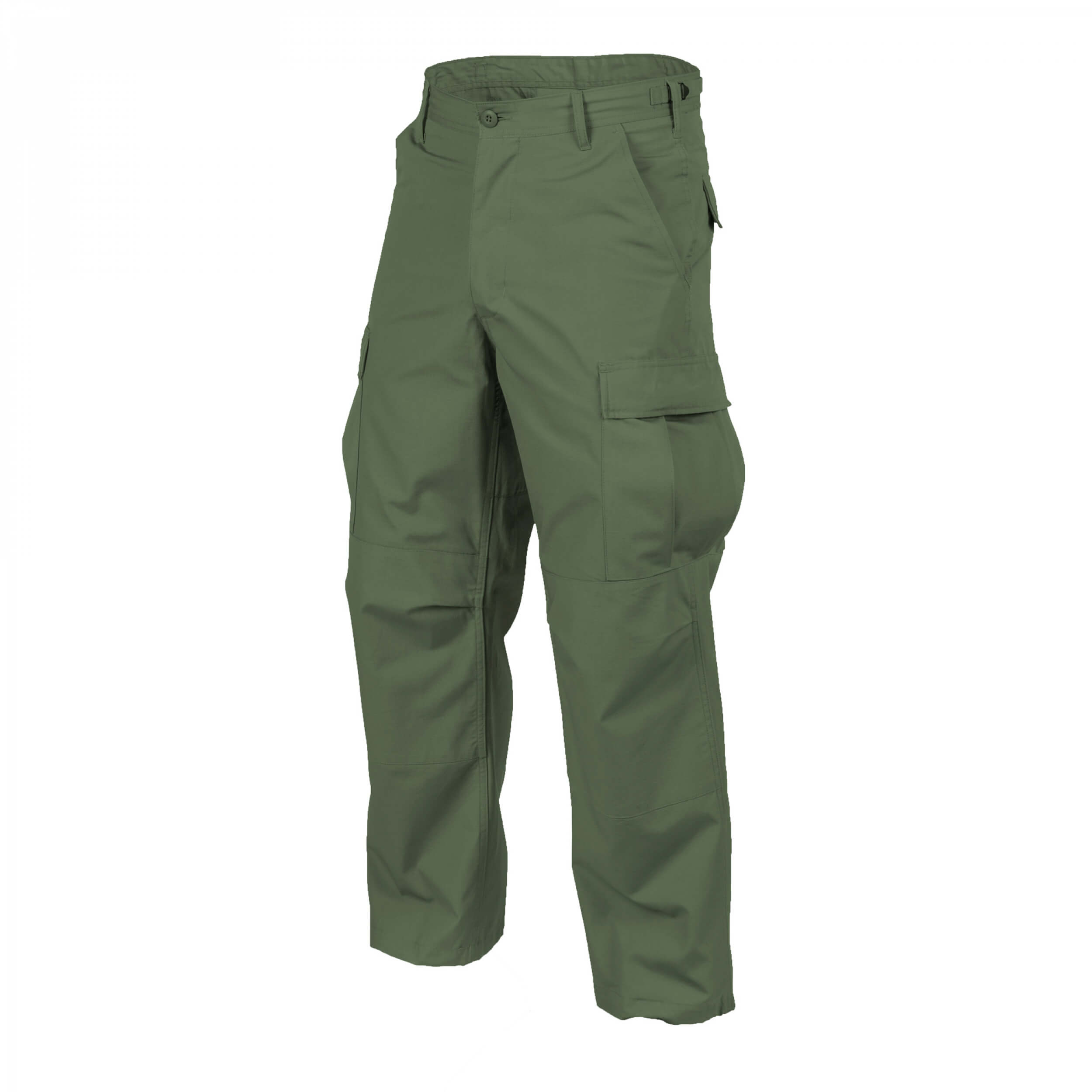 Helikon-Tex BDU Trousers - PolyCotton Ripstop - Olive Green
