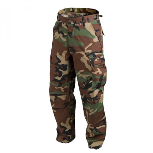 Helikon-Tex BDU Trousers - PolyCotton Ripstop - US Woodland