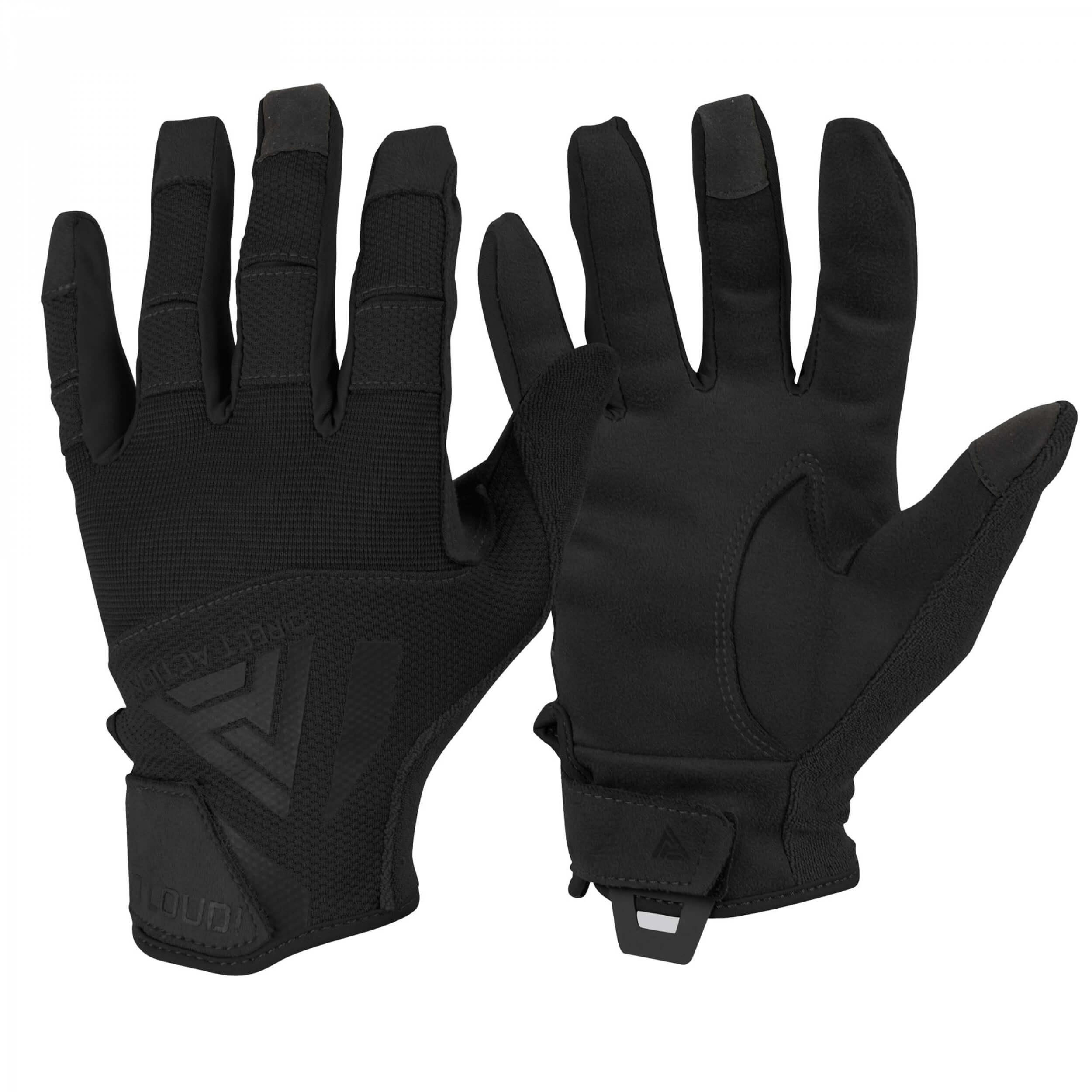 Direct Action Hard Gloves Schwarz
