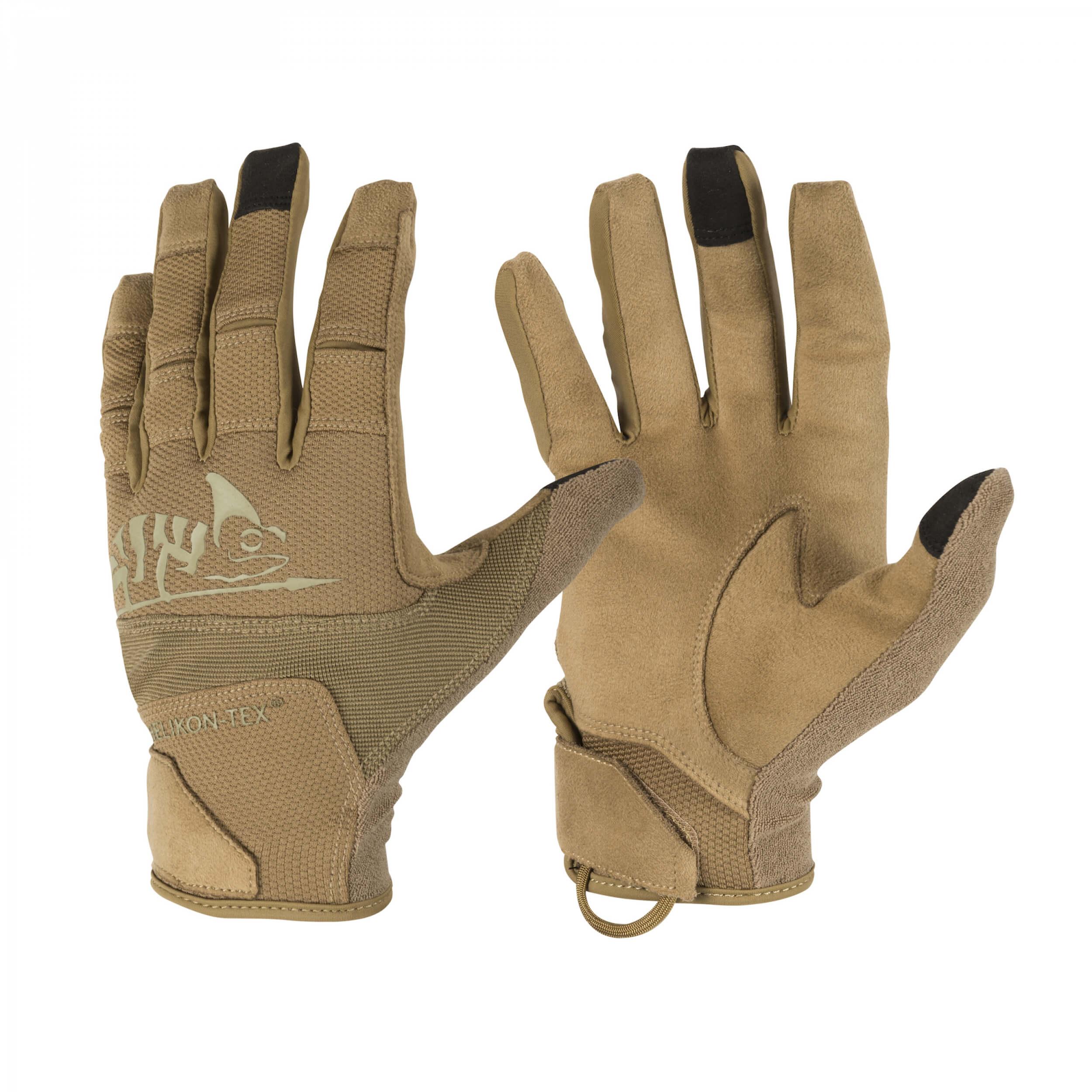 Helikon-Tex Range Tactical Gloves Hard - Coyote / Adaptive Green A