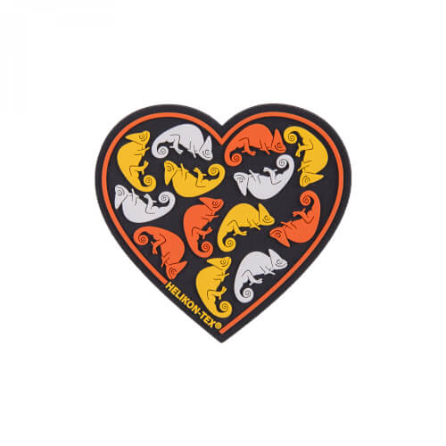 Helikon-Tex Heart Patch - PVC - Black