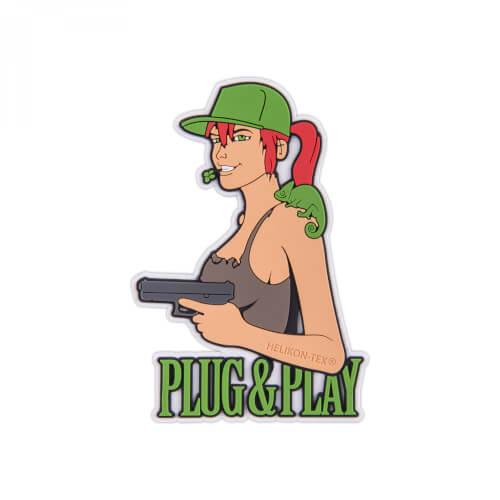 Helikon-Tex Plug & Play Patch - PVC - Brown