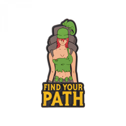 Helikon-Tex Find Your Path Patch - PVC - Olive Green