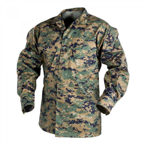 Helikon-Tex USMC Shirt -PolyCotton Twill- USMC Digital Woodland