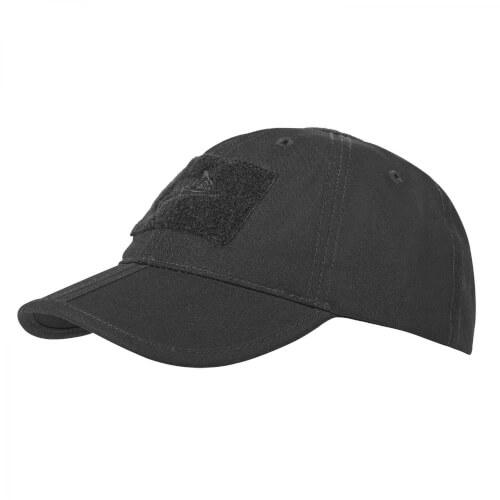 Helikon-Tex Baseball Folding Cap -PolyCotton Ripstop- Schwarz
