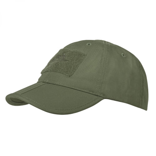 Helikon-Tex Baseball Folding Cap -PolyCotton Ripstop- Olive Green