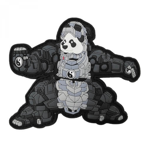 IRON PANDA 3D PVC Rubber Patch