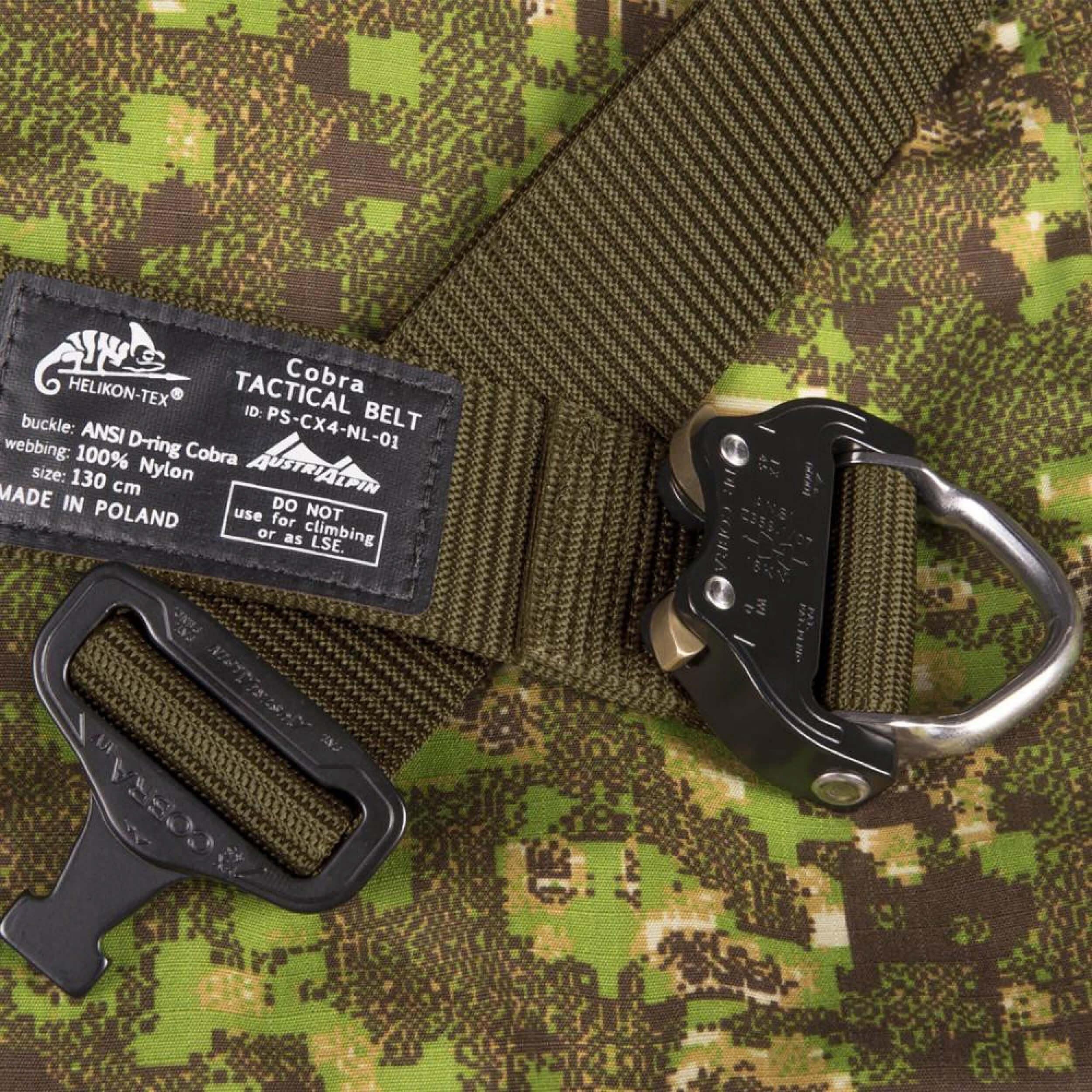 Helikon-Tex Cobra D-Ring (FX45) Tactical Gürtel - Schwarz