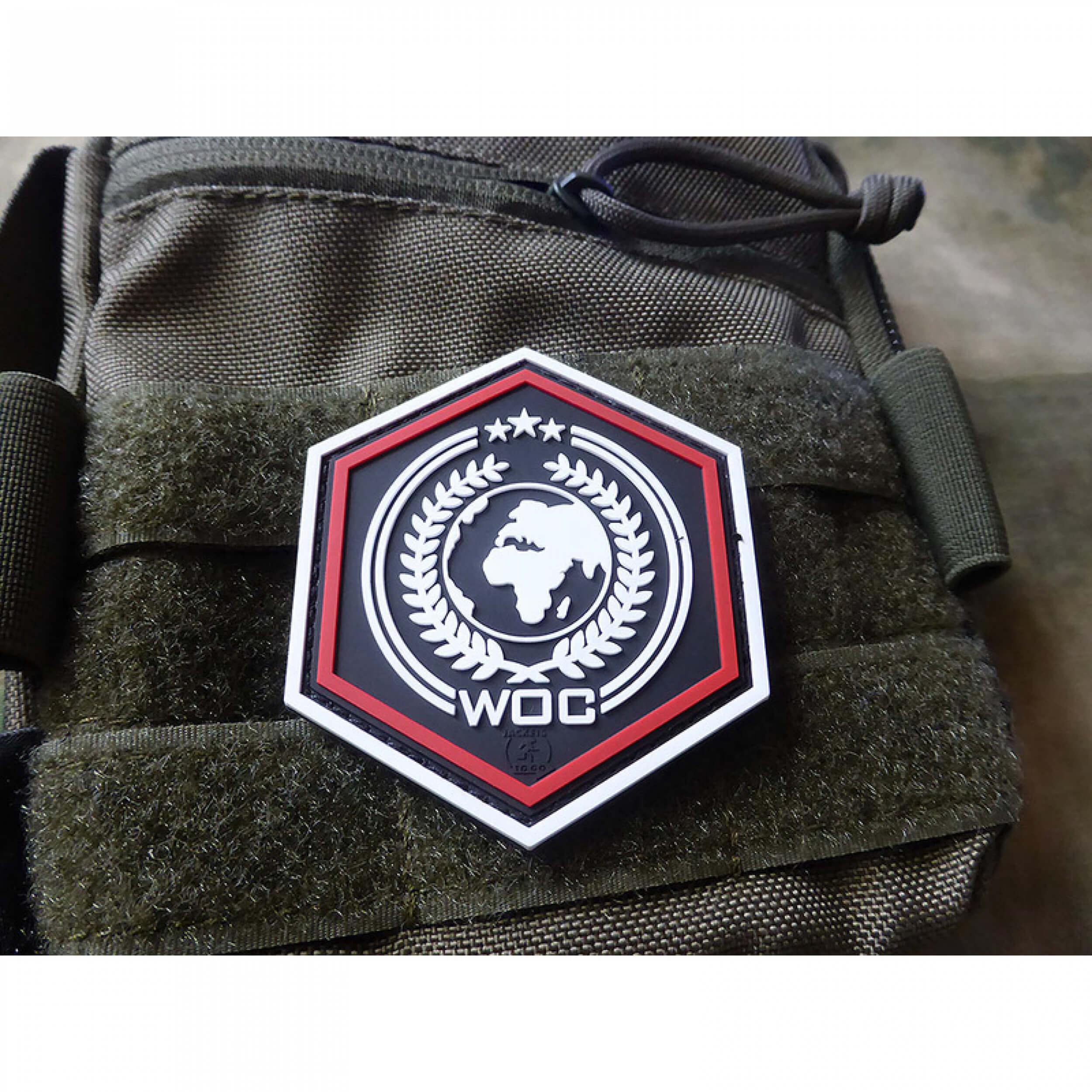 WOC NEW ORDER 3D Rubber Patch