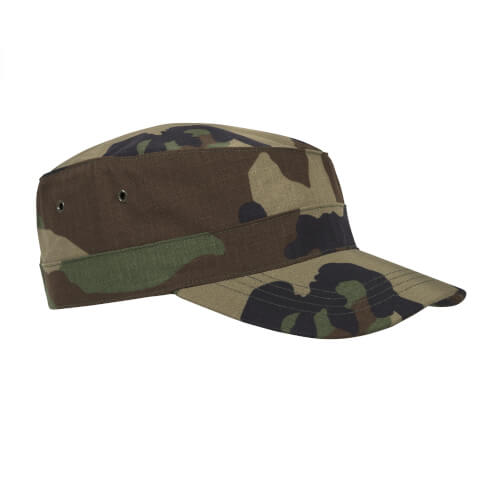 Helikon-Tex Combat Cap - Cotton Ripstop - US Woodland