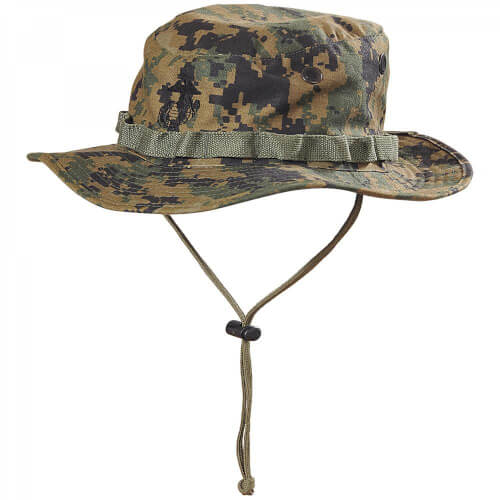 Helikon-Tex USMC Boonie Hat -PolyCotton Twill- USMC Digital Woodland