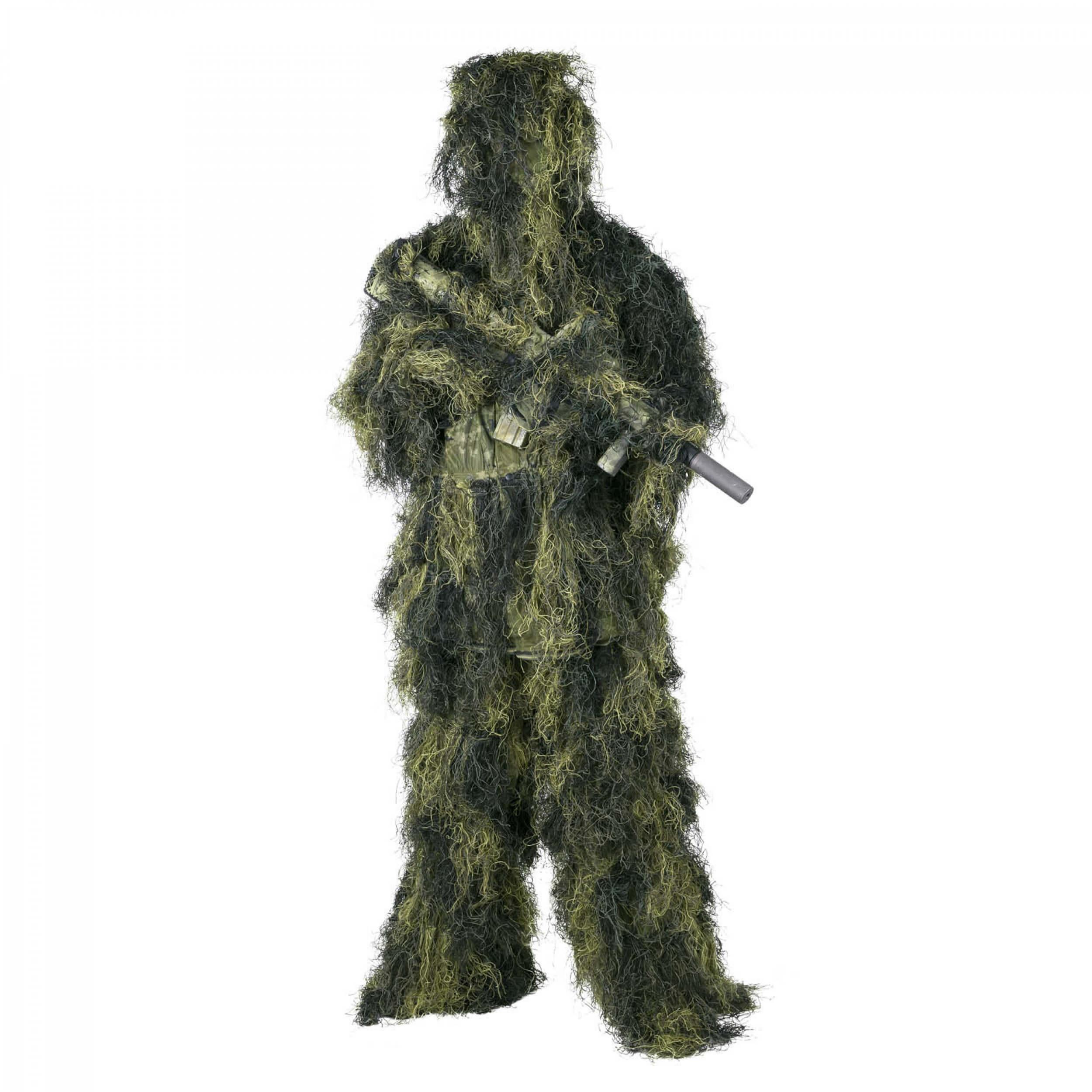 Helikon-Tex Ghillie Suit Tarnanzug - Polyester - USMC Digital Woodland