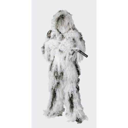 Helikon-Tex Ghillie Suit Tarnanzug - Polyester - Snow Camo