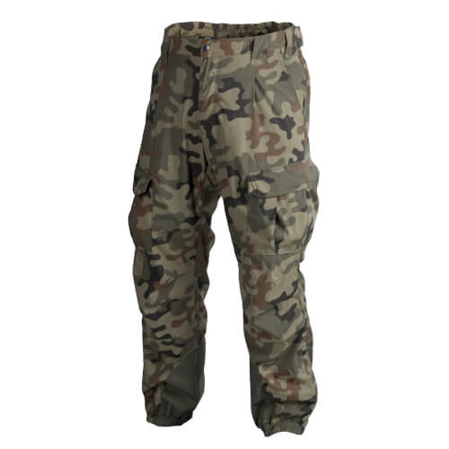 Helikon-Tex Level 5 Mk2 Hose - Soft Shell - PL Woodland