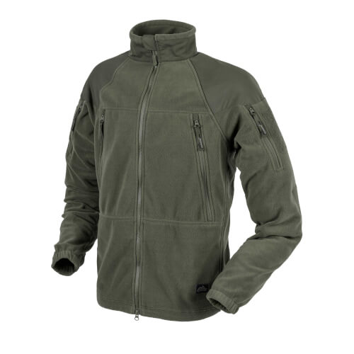 Helikon-Tex Stratus Jacke - Heavy Fleece - Olive Green