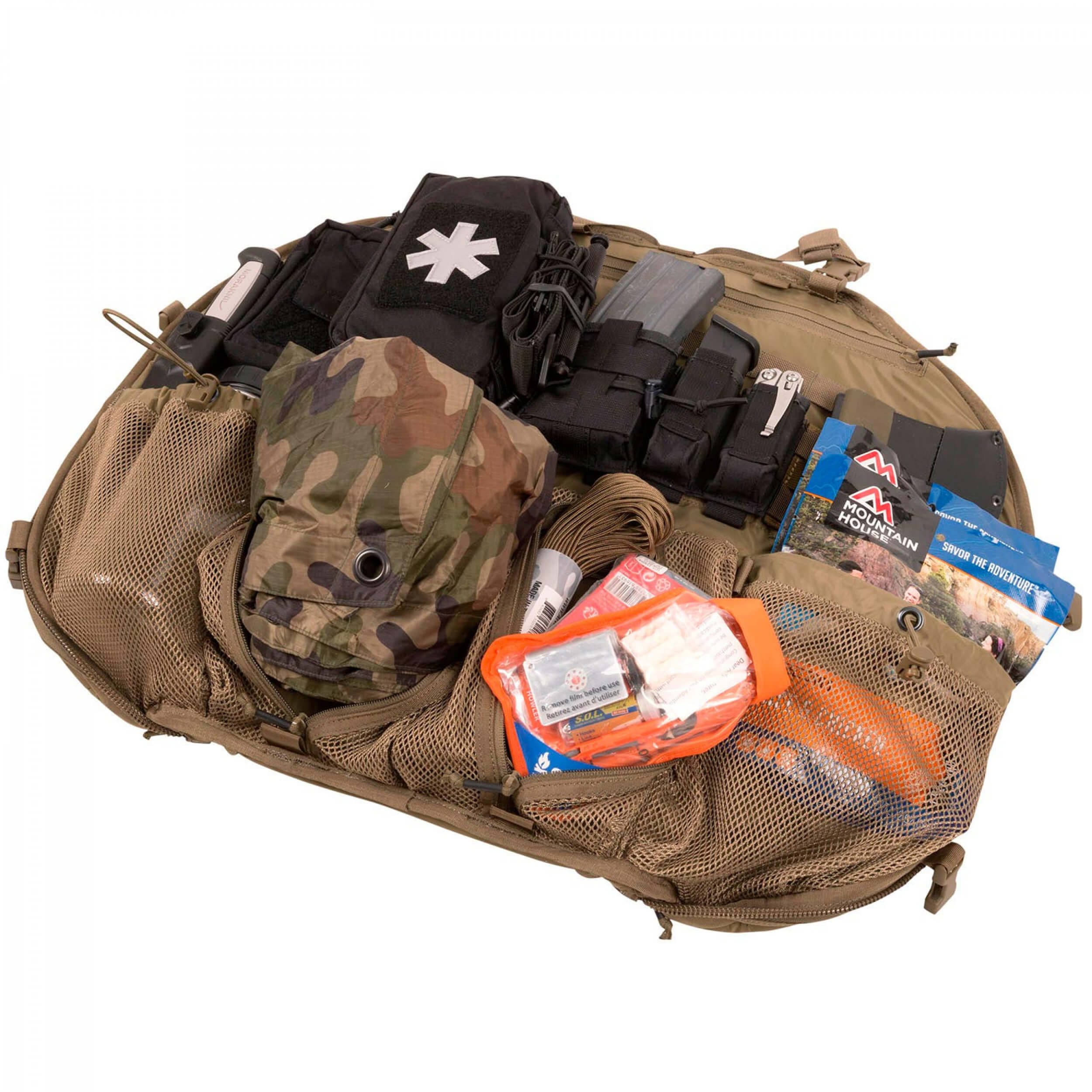 Helikon-Tex BAIL OUT BAG Rucksack -Nylon- Coyote