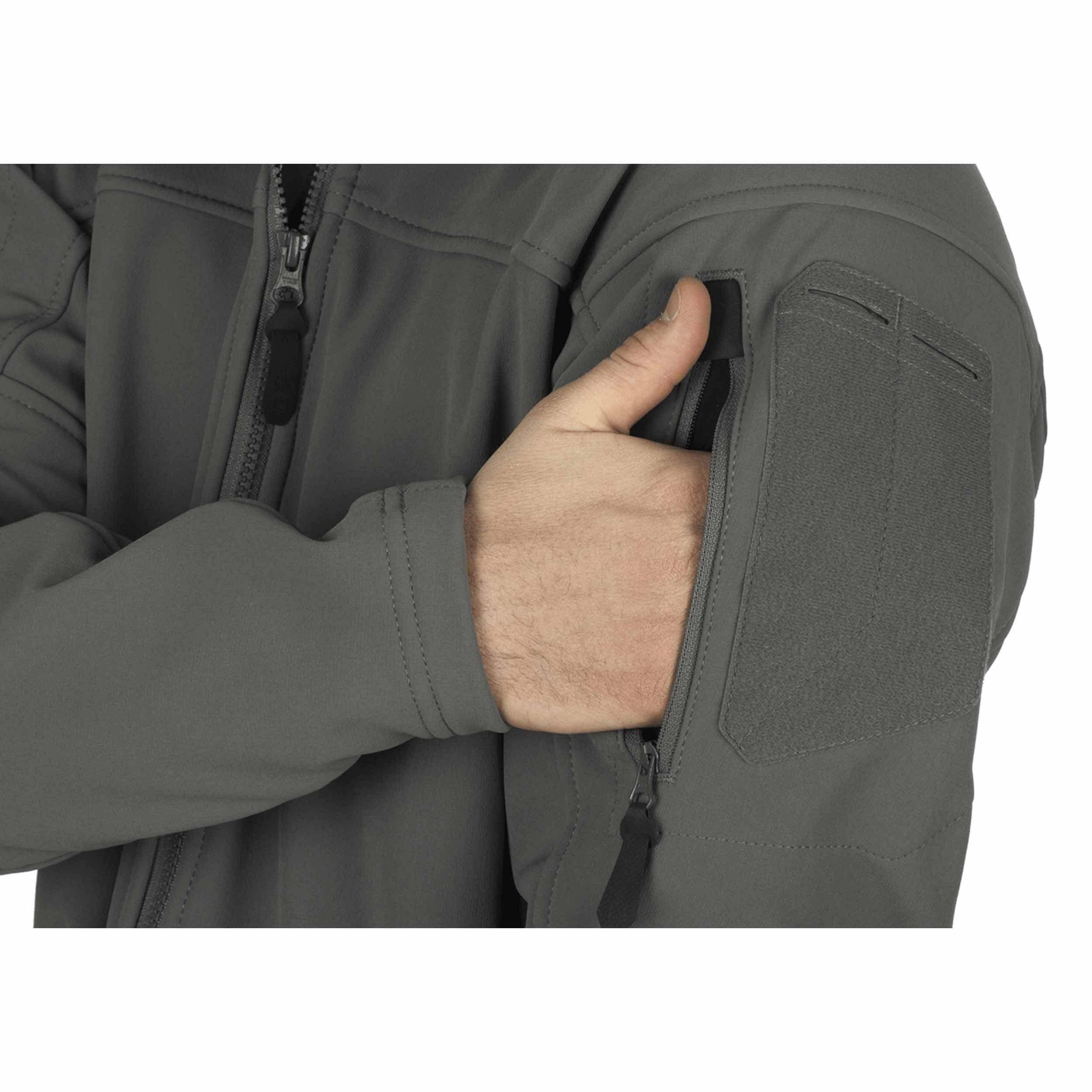Clawgear Audax Softshell Jacke Solid Rock