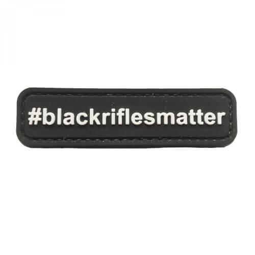 PVC Patch '#BLACKRIFLESMATTER' Klett-Abzeichen