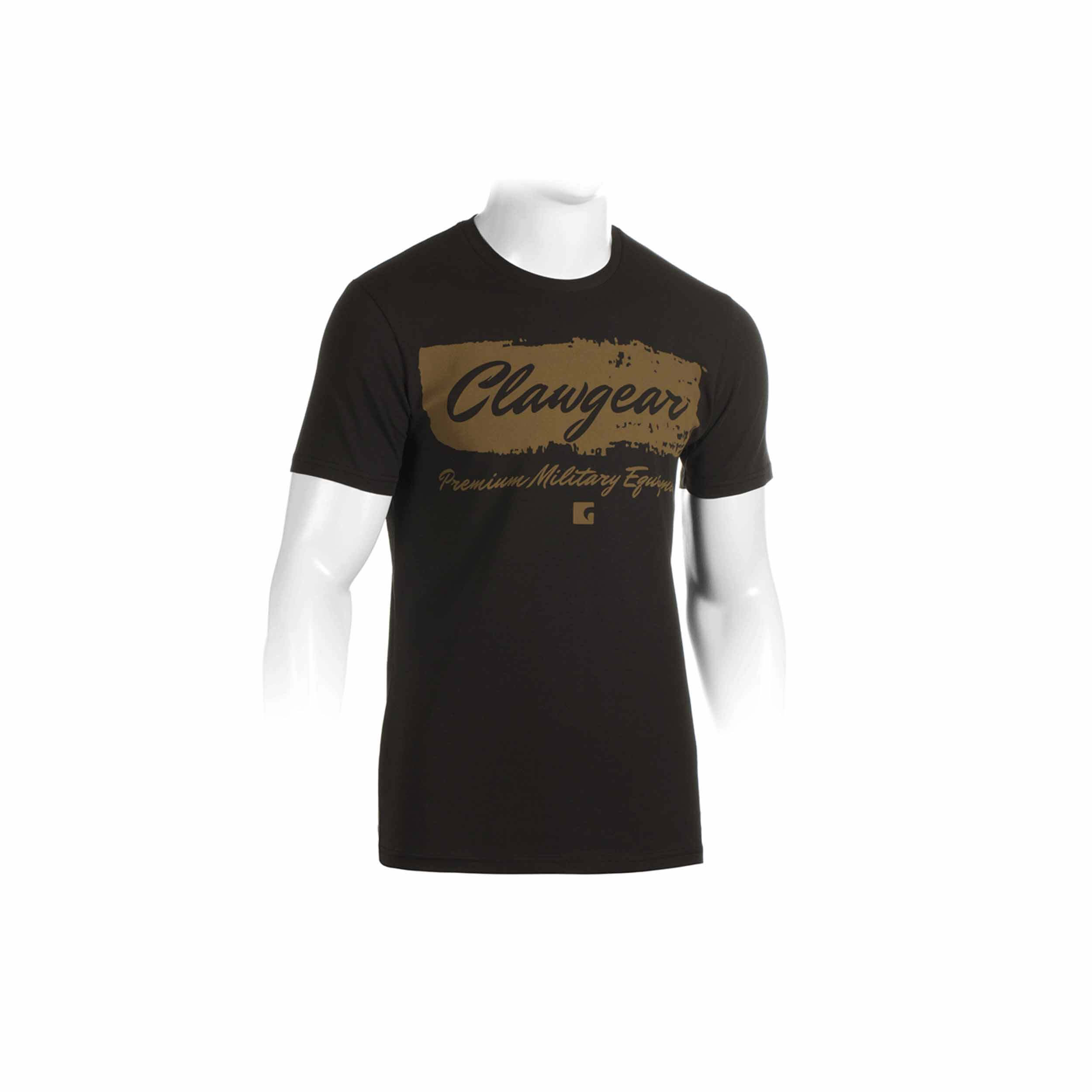Clawgear Handwritten Tee T-Shirt Schwarz