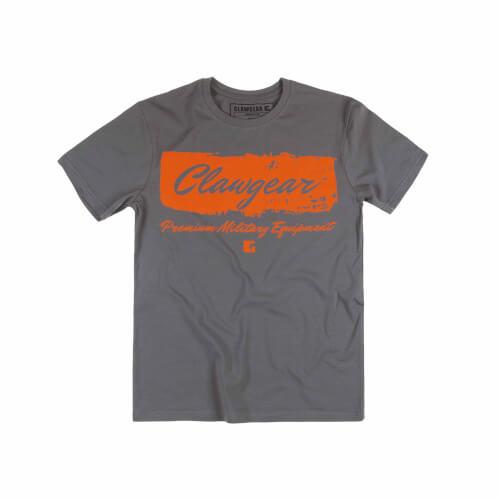 Clawgear Handwritten Tee T-Shirt Grau