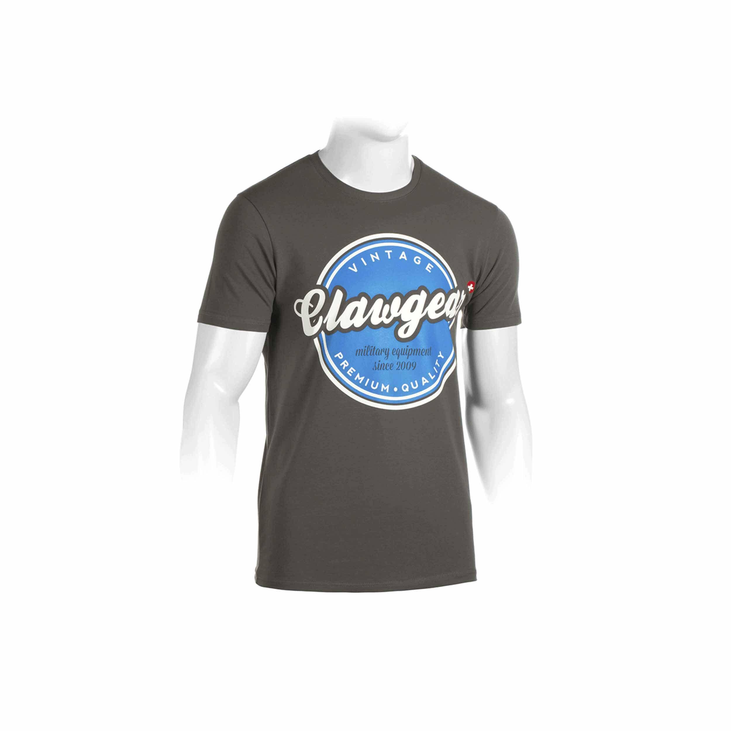Clawgear Vintage Tee T-Shirt Grau