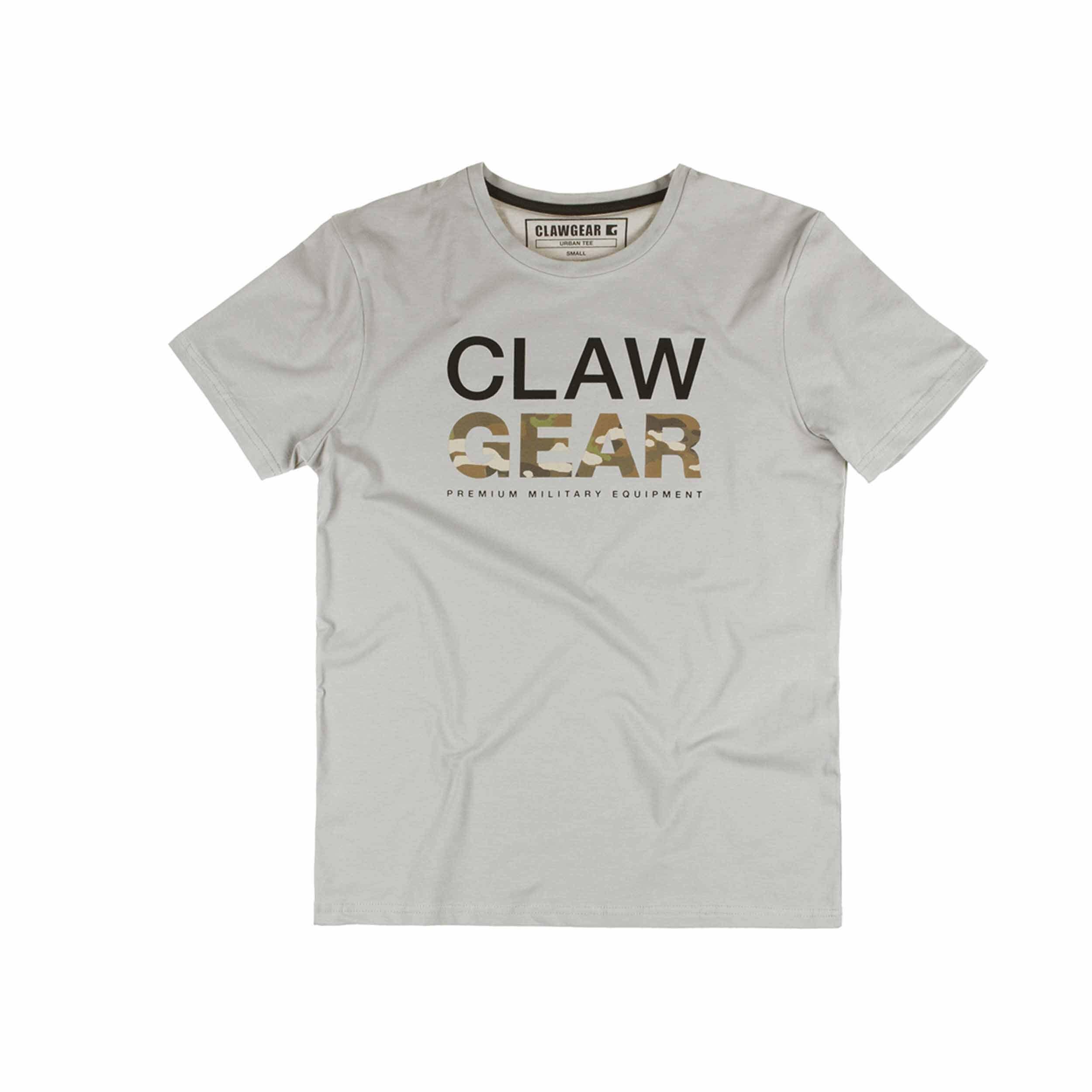 Clawgear MC Tee T-Shirt Light Grey