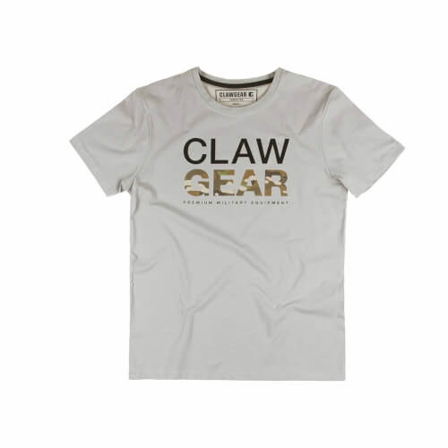 Clawgear MC Tee T-Shirt Light Grey