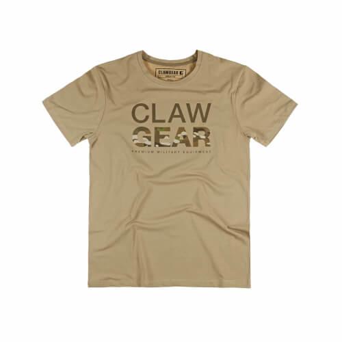 Clawgear MC Tee T-Shirt Khaki