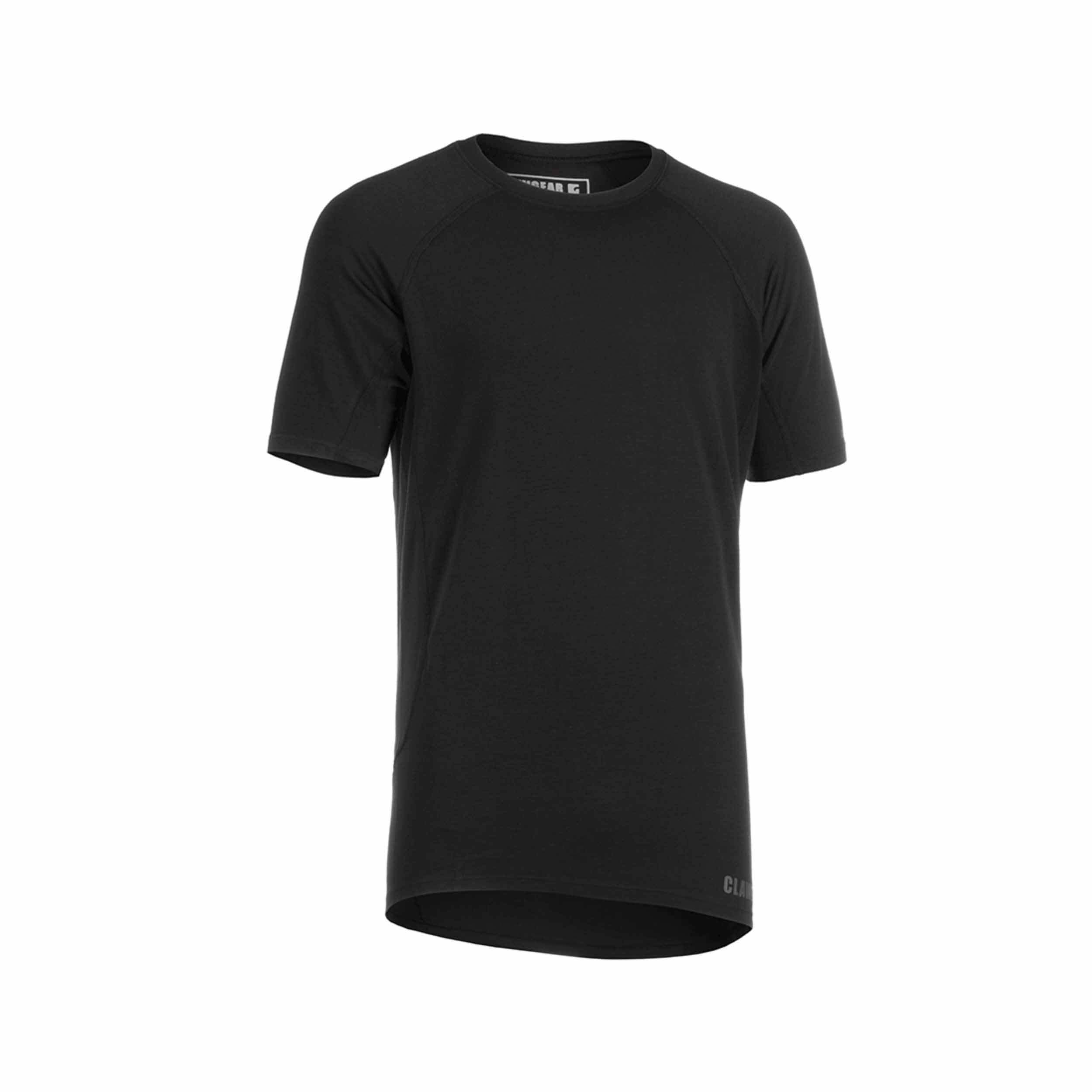 Clawgear FR Baselayer T-Shirt Short Sleeve Schwarz
