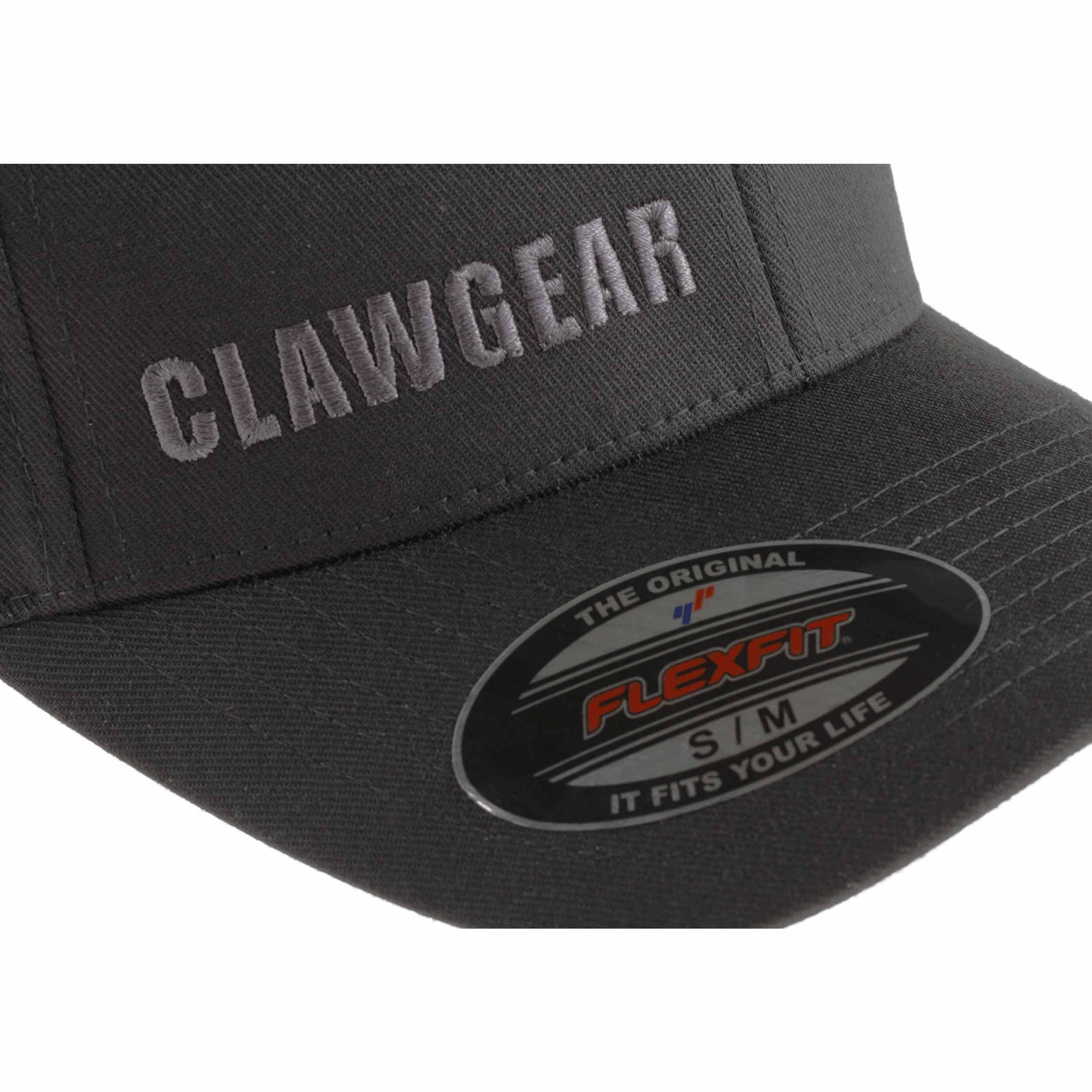 Clawgear Flexfit Logo Cap Schwarz