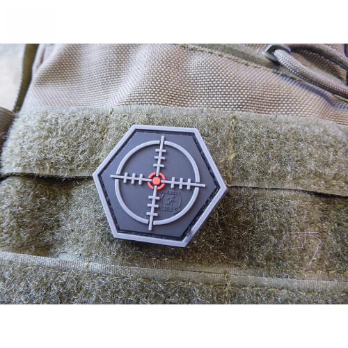 JTG SNIPER Scope, Hexagon Patch, swat / JTG 3D Rubber Patch, HexPatch