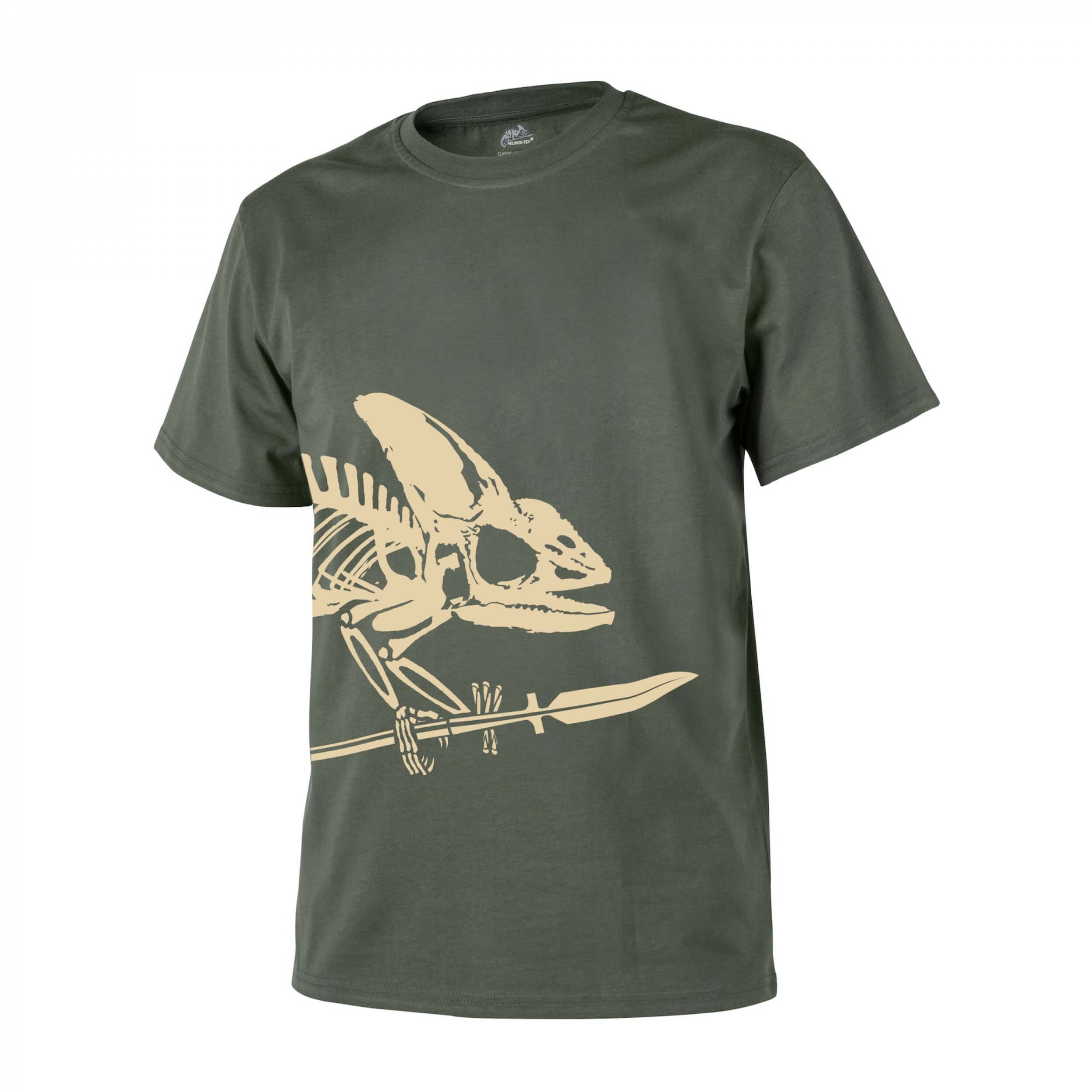 Helikon-Tex T-Shirt (Full Body Skeleton) -Cotton- Olive Green