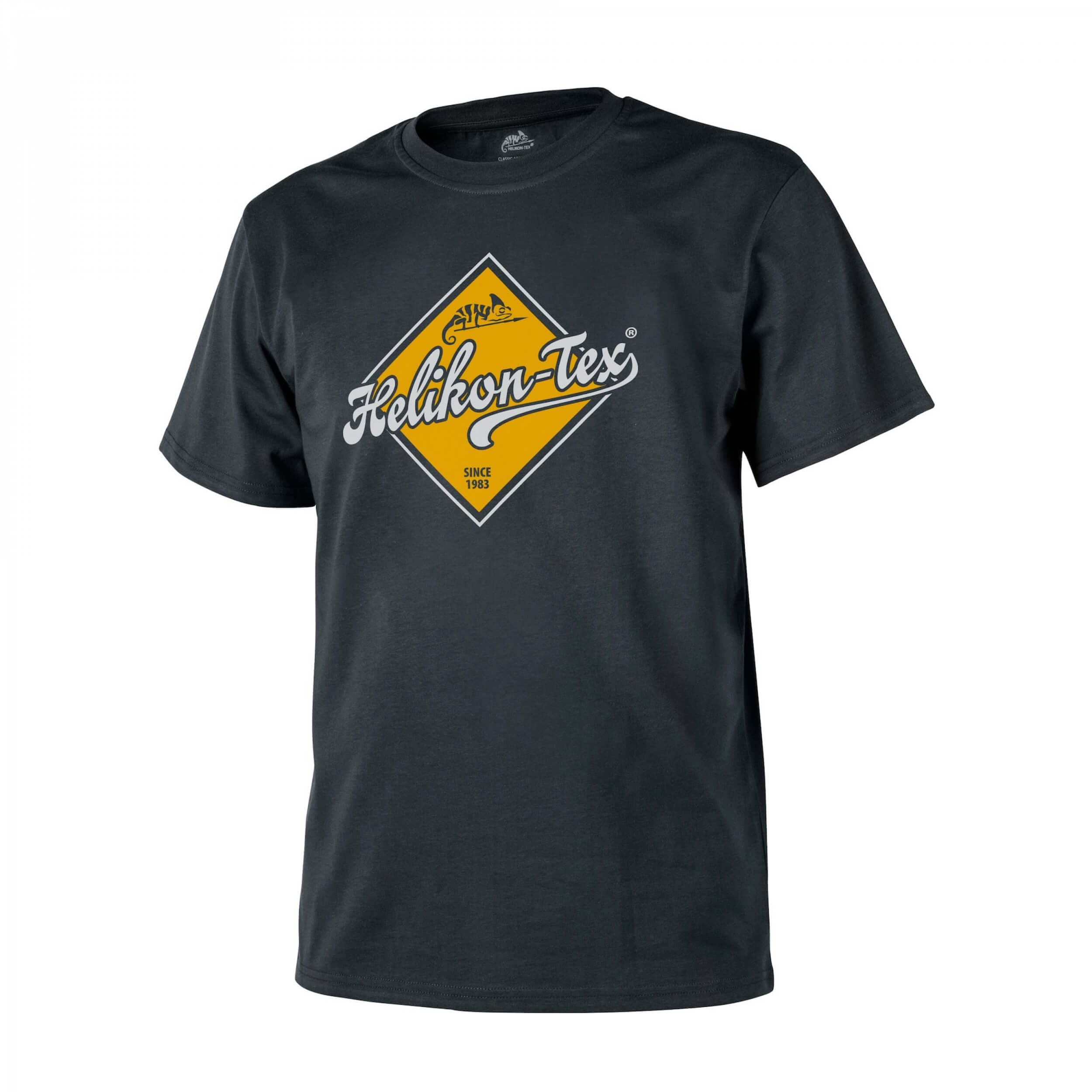 Helikon-Tex T-Shirt (Helikon-Tex Road Sign) -Cotton- Black