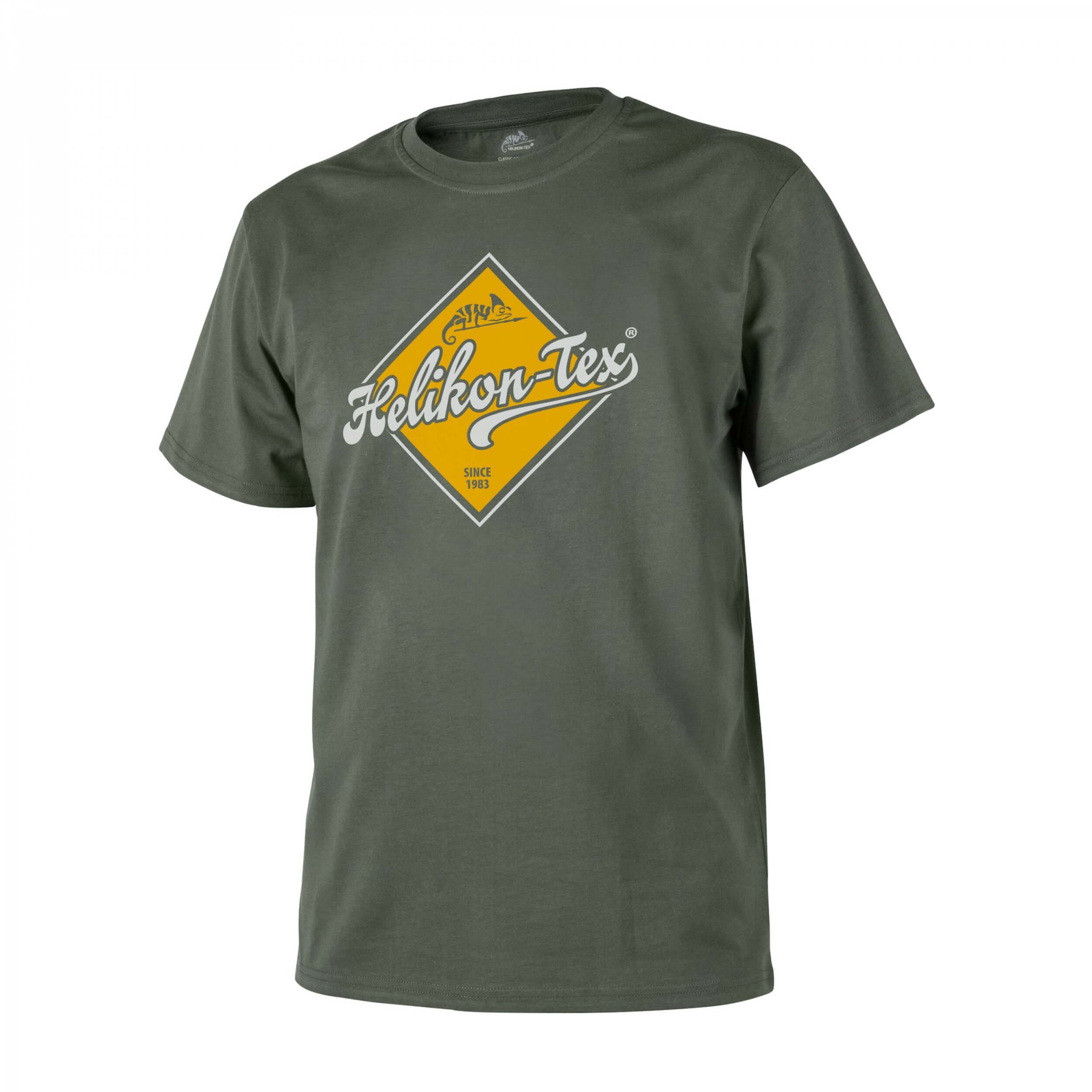 T-Shirt (Helikon-Tex Road Sign) -Cotton- Olive Green