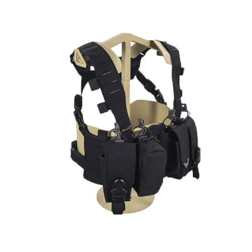 Direct Action Hurricane Hybrid Chest Rig - Cordura - Schwarz
