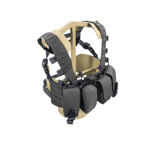 Direct Action Hurricane Hybrid Chest Rig - Cordura - Urban Grey