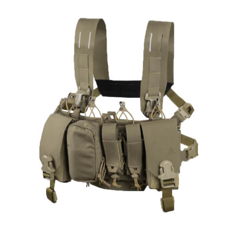 Direct Action Thunderbolt Compact Chest Rig - Cordura - Adaptive Green